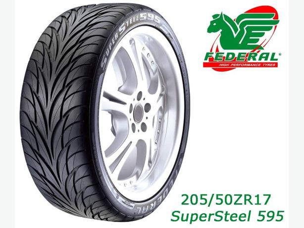 205/50ZR17 ~ Federal SuperSteel 595