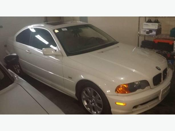 Parting out 2000 BMW 323ci (E46)