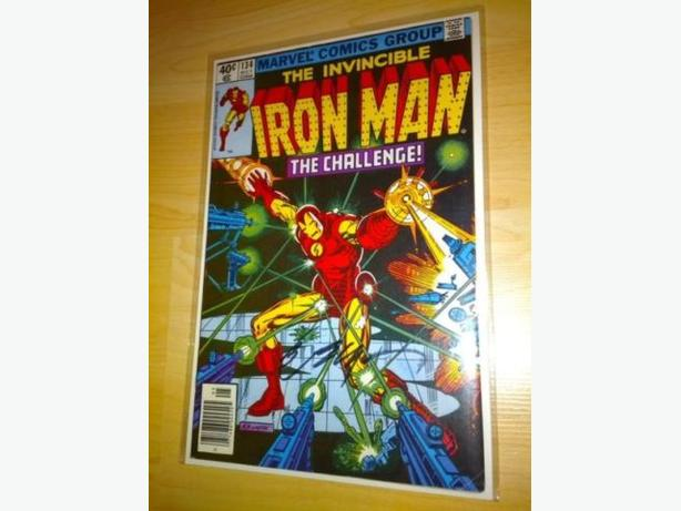 Artist Signed Comic Books - Iron Man Covers