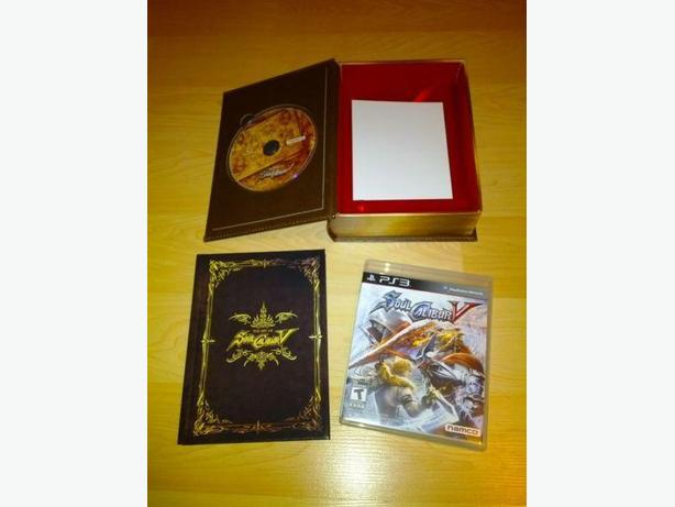 Like New Soul Calibur V Collector's Edition For The PS3