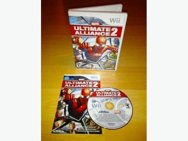 Marvel Ultimate Alliance 2 For The Nintendo Wii