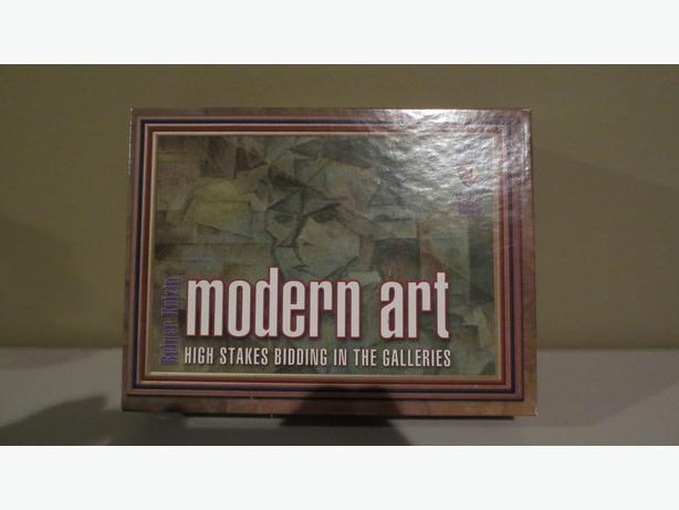 MODERN ART BOARD GAME (NEW)