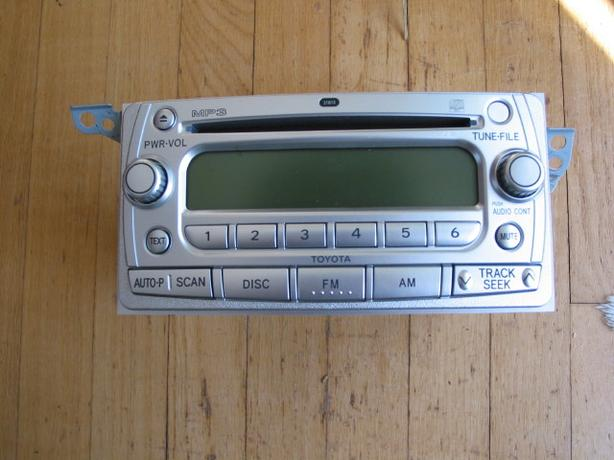 Silver 6 CD MP3 Toyota Car Stereo