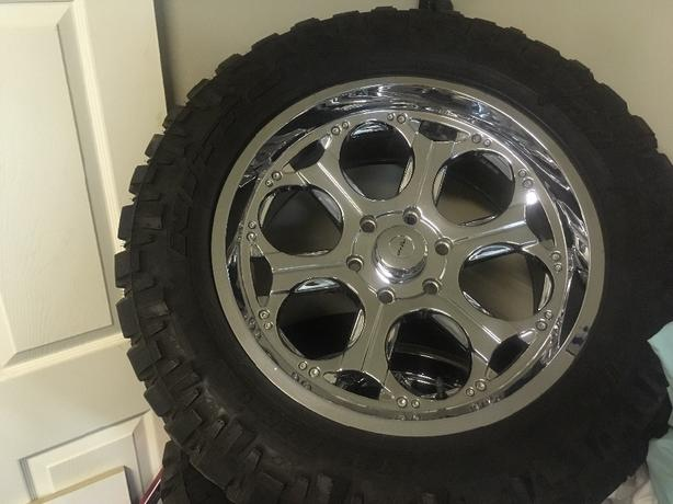 new m/t tires and rims