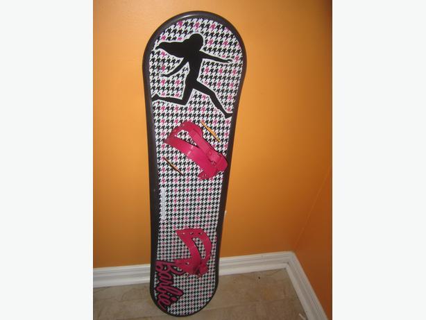 Planche à neige Barbie