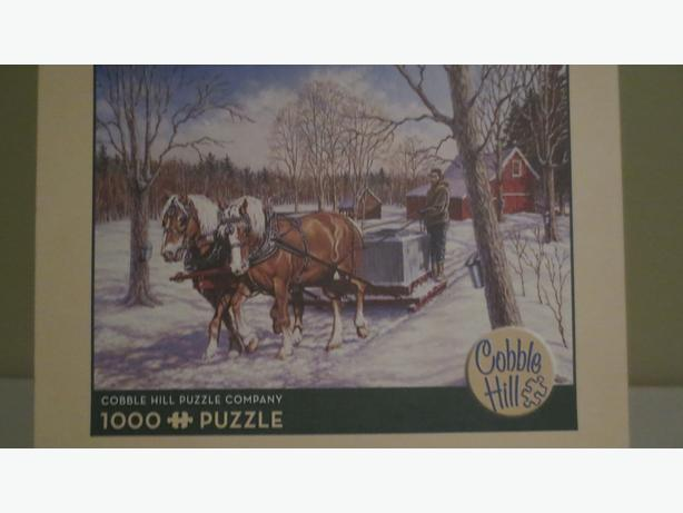 COBBLE HILL PUZZLE  marked down