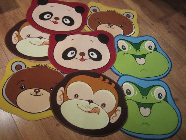 8 tapis pour enfant