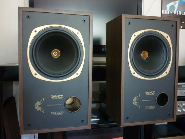 vintage tannoy dc 200 dual concentric made in uk central. Black Bedroom Furniture Sets. Home Design Ideas