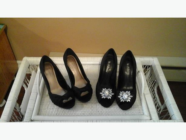 Le Chateau Black Ladies Shoes