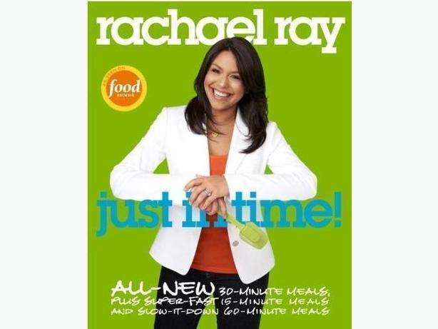 Brand New Rachel Ray Just in Time Book - $8