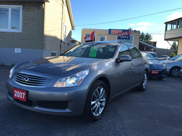 2007 Infiniti G35x - All Wheel Drive - No Accidents - Two Set Of Keys!