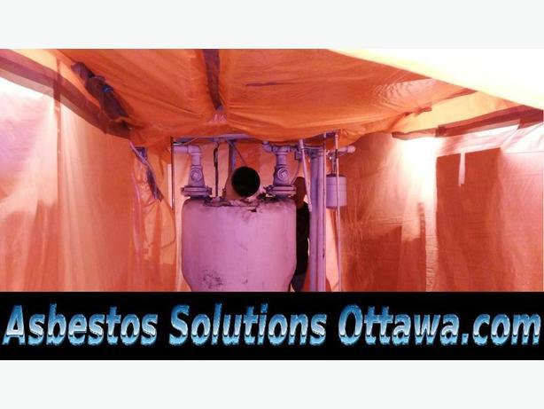 Asbestos Mold Demolition Excavation Backhoe Shovel