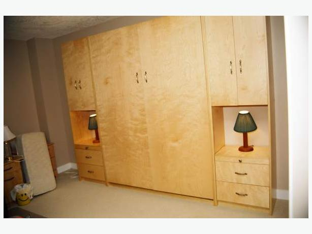 Murphy Bed + Cabinets - Brand New