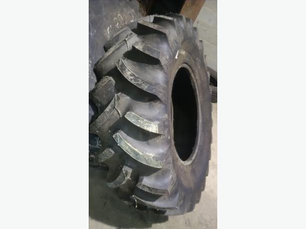 Titan Radial Tractor Tire, 14.9R24, Tubeless. Front wheel Assist. Estevan, Regina
