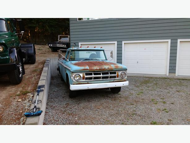 1968 Dodge Pick-Up D100 Project