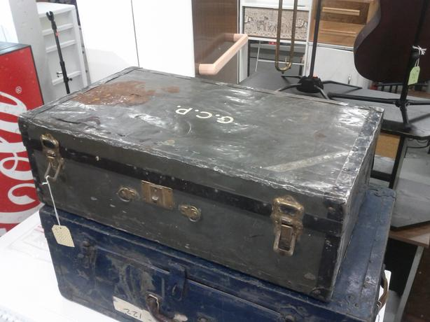 Smaller Vintage Army Trunk