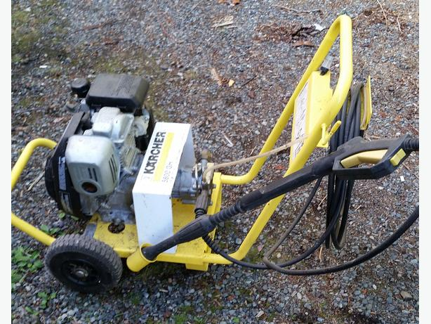 Karcher 5 hp pressure washer