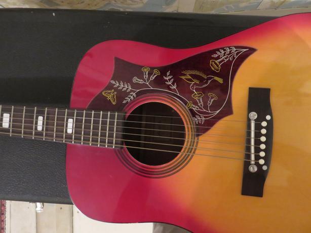kent hummingbird guitar