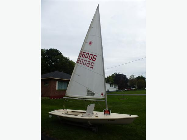 International Class Laser Sailboat