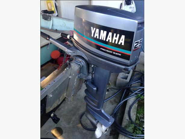 Lund 16 w/ 25hp yamaha and trailer