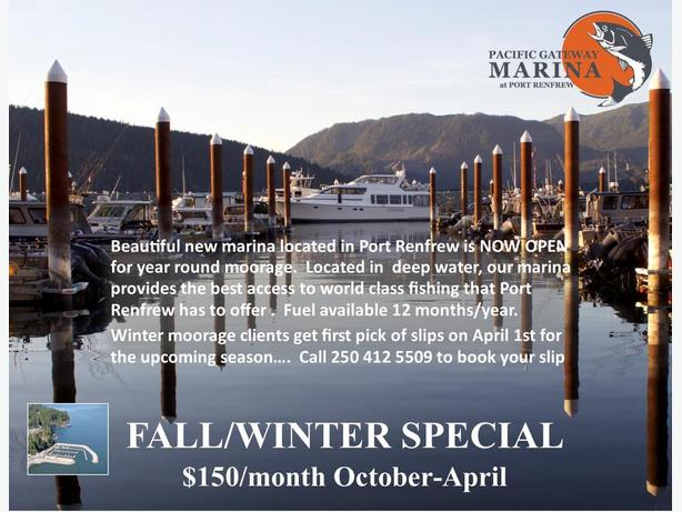Fall/Winter Special $150/Month