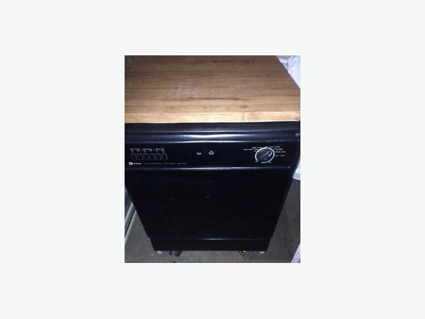 Black Portable Dishwasher