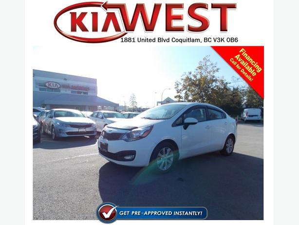 2013 Kia Rio LX+ with ECO