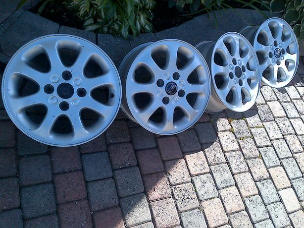 "98-05 4 VOLVO 40 SERIES 4 BOLT 6 X 15"" ALLOY RIMS WHEELS 114.3"