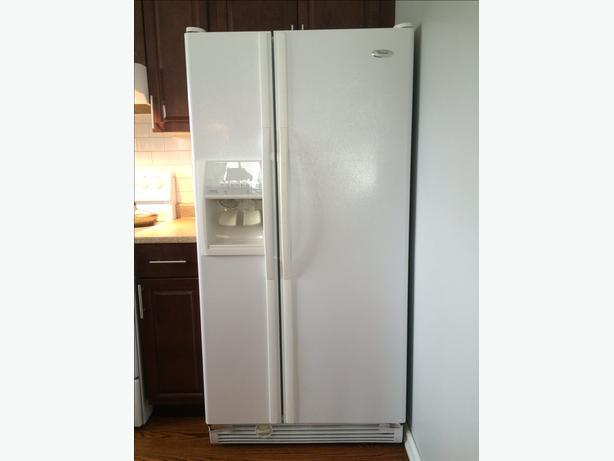 Whirlpool Side by Side Refrigerator/Freezer