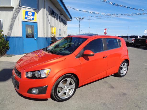 2012 Chevrolet Sonic LT #I5229 INDOOR AUTO SALES WINNIPEG