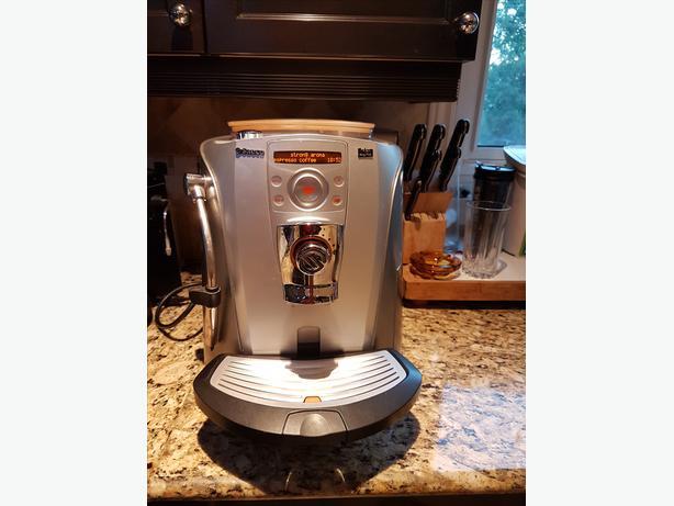 Automatic Espresso/Cappuccino/Macchiato Maker