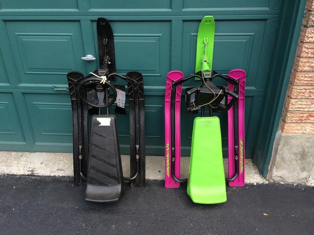 4 Children's Winter Sleds