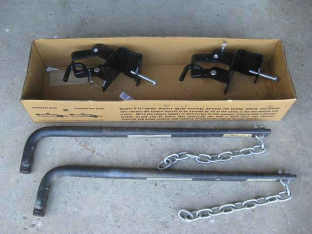 SWAY BARS AND CLAMPS FOR EQUALIZER HITCH