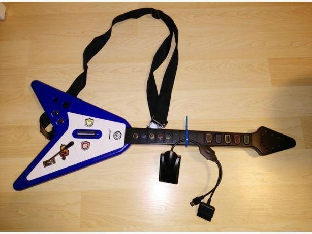 Wireless PS2/PS3 Guitar Controller