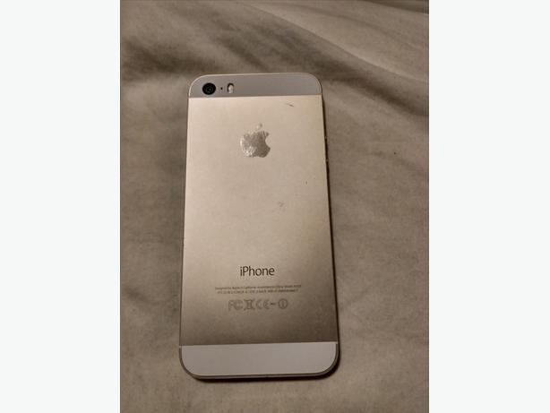 Iphone 5s, 16GB, Telus Gold Excellent Condition