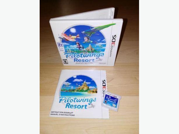 Pilot Wings Resort For The Nintendo 3DS