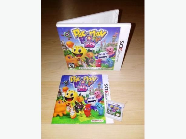 Pac-Man Party 3D For The Nintendo 3DS