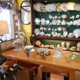 Tons of discontinued china for sale in Willow Antique Mall in Chemainus.