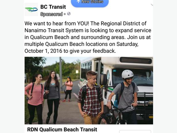 more bus routes in qualicum