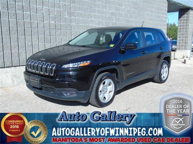 2014 Jeep Cherokee Sport*Only 1, 890 kms