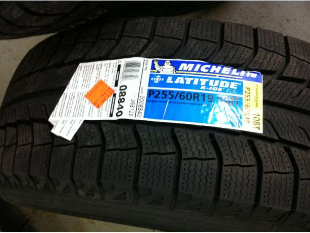 NEW 255/60/R19 Michelin X-Ice snows – Mercedes GL / Range Rover