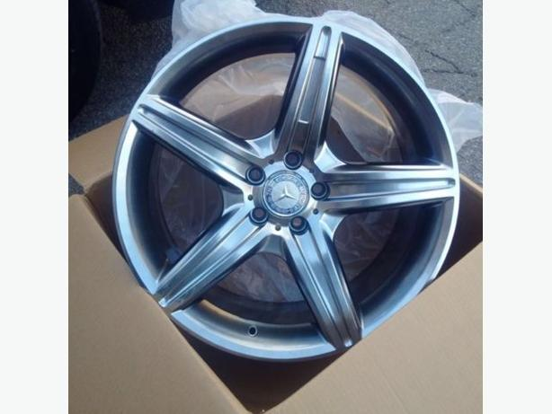 Brand NEW 19 inch Mercedes AMG HyperBlack reps(5x112)– VW / AUDI