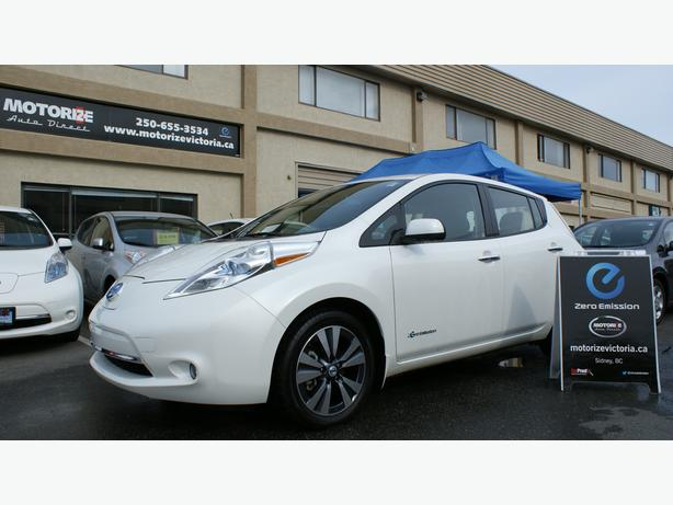 2013 Nissan LEAF SL - Quick Charge Pkg - Bose & Around View - M8489