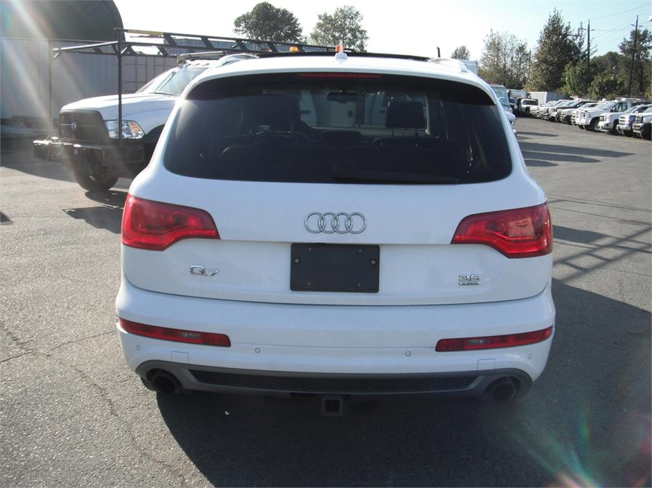 2010 Audi Q7 3 Row Seating 3 6 Quattro S Line Premium With Tech Package Outside Victoria Victoria
