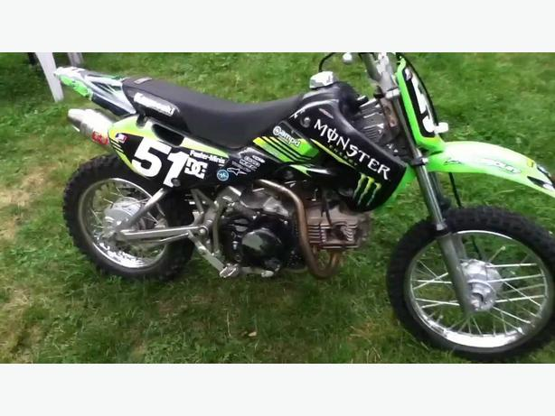 2007 klx 110 small wheel