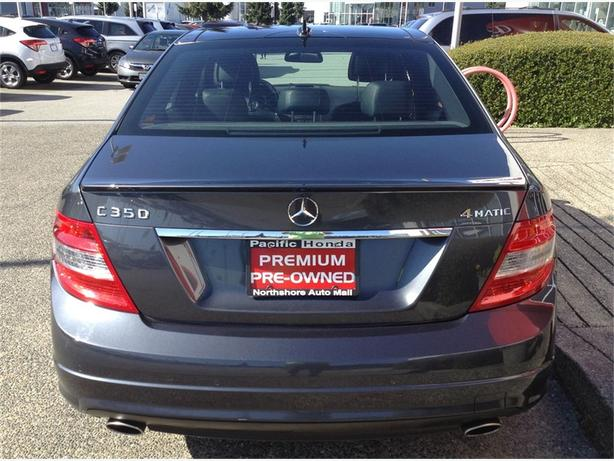 2010 Mercedes Benz C Class 4dr Sdn 3 5l Rwd Totally Loaded