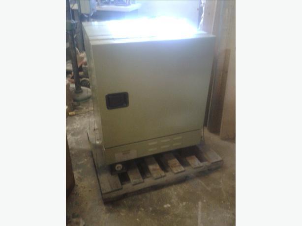 Gullco 1000 lbs welding electrode stabilizing oven 220v 1phase