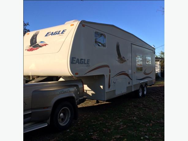2005 Jayco Eagle - suitable to live in