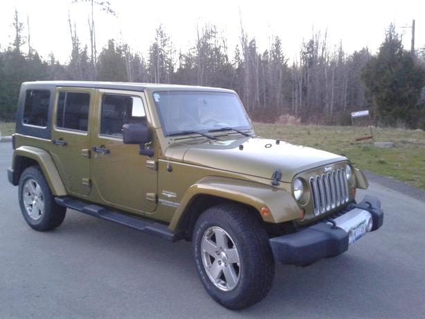 2008 Jeep Wrangler 4 door
