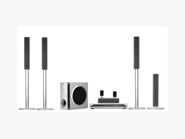 Sony DVD Home Theatre System, HDMI Out, Wireless Rear Speakers